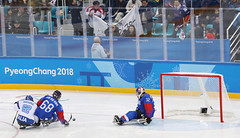 Paralympic_IceHockey_Korea_Italy_03 (KOREA.NET - Official page of the Republic of Korea) Tags: 평창 2018평창동계패럴림픽 강릉시 강릉하키센터 강릉올림픽파크 파라아이스하키 아이스하키 2018pyeongchangwinterparalympic paralympics icehockey gangneunghockeycenter bronzemedalgame
