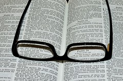 Good habit (DOUGBpix) Tags: bible psalm23 glasses explore 3162018 explored 174