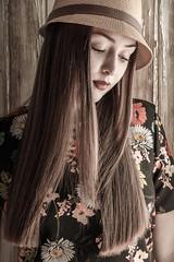 Rocío 9 (Focussed Photography) Tags: spain barcelona nikon photo report girl model beauty portrait blackandwhite bw