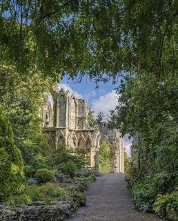 York:  Path leading to ancient ruins...