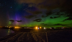 Incredible Aurora display over the village of Gress (Impact Imagz) Tags: aurora auroraborealis northernlights firchlis merrydancers nightsky nightphotography nightscape stars gress outerhebrides hebrides westernisles scotland colours samyang canon