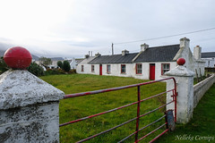 Houses in Keel (Nelleke C) Tags: 2017 achillisland countymayo keel countryside dorp holiday house huis ierland ireland platteland vakantie village