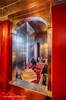 Opulence (Holfo) Tags: yellow uptonhouse nationaltrust opulence grandeur bathroom red silver nikon d750 hdr