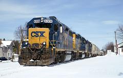 B702 At Highfield (DJ Witty) Tags: csxt train photography d610 freight railroad emd dieselelectriclocomotive gp39 gp392