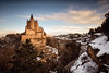 Alcázar of Segovia (Luis Cagiao) Tags: alcazar segovia city cityscape urban architecture arquitectura historic building fort fortification castle military spain españa snowy snow nieve nevado sunset clouds tourism touristic tourist destination travel