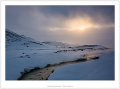 Steaming Stream (mistymornings99) Tags: iceland landscape river krafla curve photostyles geothermal nature steam