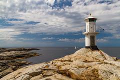 Marstrand/Sverige 2013 (karlheinz klingbeil) Tags: lighthouse leuchtturm sverige ocean northsea schweden wasser water marstrand nordsee meer