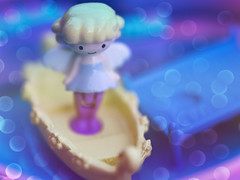 My Little Fairy ♀️ (Jam-Gloom) Tags: olympus olympusuk olympusomdem5 olympusomd omdem5 macro 60mmmacro 60mm28 60mmmacro28 miniature miniatures pollypocket cosme mylittlefairy twinklepact rement rementmylittlefairy fairykei kawaii cute japanesetoys japanesetoy compacthouse