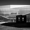 Untitled (for now) 3.0 (dmcbee1) Tags: architecture university black white philadelphia nikon nikkor 28mm ais entrance doors windows