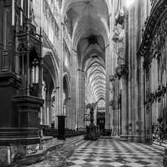 Saint-Ouen Abbey Church, Rouen (JamesMcNellis) Tags: rouen normandie france fr