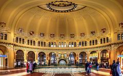 Hauptbahnhof Prag (Schneeglöckchen-Photographie) Tags: prag prague praha old station hauptbahnhof bahnhof tschechien