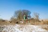 4 people on lighthouse (Rasande Tyskar) Tags: hamburg germany landscape landschaft moorburg lighthouse leuchtturm nature natur insel elbe halbinsel reet reed schnee snow winter cold