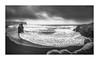 Vik Inferno (W.Utsch) Tags: vik iceland weather sttorm rain panorama bnw blackandwhite landscape landschaft island waves