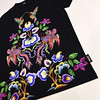 Oriental embroidery (Philip Grisewood) Tags: philipgrisewood jaded embroidery digital print floral birds tee tshirt fashion