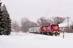 MN&S Job (shawn_christie1970) Tags: newhope minnesota unitedstates us canadianpacificrailway soo4598 cp3025 mnsjob mnsspur gp382 emd gp392 train winter