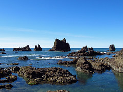 Low Tide at Pacific Coast in OR (Landscapes in The West) Tags: pacificcoast pacificocean pacificnorthwest oregon ocean beach lowtide cannonbeach indianbeach