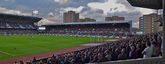 West Ham United at the Boleyn Ground, London E13, October 2011 (sbally1) Tags: westham whu football boleynground london londone13 e13 eastlondon hammers stadium