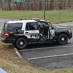 Castle Shannon Police Department (Emergency_Spotter) Tags: castle shannon police department ford fleet expedition 54l v8 black white alloy awd