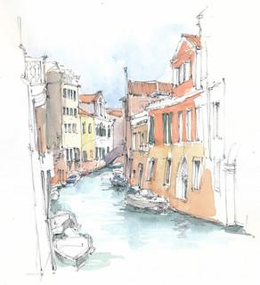 Venezia, Ramo al Ponte San Francesco