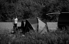 Preparing For A Weekends Fishing. July 2017 (SimonHX100v) Tags: fishing camping tent van countryside alone man blackandwhite greyscale nottingham attenboroughnaturereserve attenborough attenboroughnaturecentre street candid streetphotography streetphoto streetphotographer photography streetstyle urban person men male gentlemen gentleman solitude solitary lonely single one blackwhite monochrome monotone grayscale bw bnw sepia july july2017 summer summer2017 outdoor outdoors outside simonhx100v sonydschx100v sonyhx100v hx100v