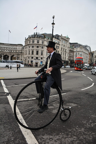 Cycling Through London in Style