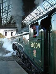 DRIVER OF NO 9 PRESTON 020803 (Nigel Valentine) Tags: preston 60009 a4 steam lancashire