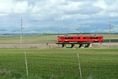 Long Way from Home (lennycarl08) Tags: siemensduewagu2 mts sandiegotrolley westernrailwaymuseum riovista california solanocounty trolley