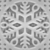 snowflake square (muffett68 ☺ heidi ☺) Tags: snowflake bw hss sliderssunday design round cmwdbw squaredcircle squarecrop symmetry mirror