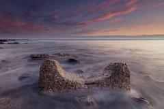 Universe & U (johnkaysleftleg) Tags: seaham seascape sunrise morning industrialarchaeology countydurham durhamcoast northeast england tide canon760d sigma1020mmf456exdchsm ndhardgrad06 5stopfilter