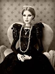 Sepia portrait (Deejay Bafaroy) Tags: fashion royalty fr fr2 doll puppe integrity toys barbie agnes vonweiss highvisibility portrait porträt sepia