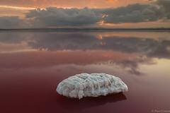 red salt (Paco Conesa) Tags: salt sal salinas clouds longexposure canon sunset paco conesa
