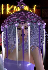 Chop Zuey- Andromeda Fascinator (aerlinniel.roughneck) Tags: 7deadlyskins anxiety blaxium chopzuey darkpassions designercircle fashiowlposes finderskeeperhunt senseevent sntch trunkshow venge