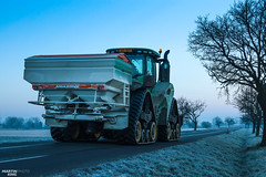 Regenerative fertilization of winter oilseed rape | JOHN DEERE // AMAZONE (martin_king.photo) Tags: spring springwork2018 regenerative fertilization regenerativefertilization johndeere johndeere8200 jdrx johndeere9620rx amazone amazonezats4200 fertilizerspreader spreader oilseed rape springwork powerfull martin king photo agriculture machines strong agricultural great day czechrepublic sky fans work place big machinery yellow tschechischerepublik martinkingphoto welovefarming working modern landwirtschaft green red colorful colors blue mais maize corn photogoraphy photographer canon tractor tracs frozen frosty morning frost cold worker colours