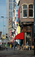 Rotterdam - L'Ouest bar and north along Mauritsweg (Phil Heneghan) Tags: dsc9566 rotterdam netherlands february 2018 city winter architecture nederlands streetview streetscene mauritsweg louest bar vanoldenbarneveltstraat cooldistrict nikond7020180214to15