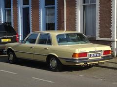 1972 Mercedes-Benz 350 SE (harry_nl) Tags: netherlands nederland 2018 tilburg mercedesbenz 350se dr1990 sidecode1 import