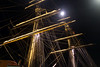 Stad Amsterdam at Night (AGrinberg) Tags: sanfrancisco 63966stadamnight stad amsterdam tallship boat ship night rigging