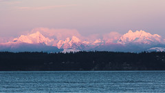 Resolution (John Westrock) Tags: mountains sunset nature landscape northcascades porttownsend pink light washingtonstate pacificnorthwest canoneos5dmarkiii canonef100400mmf4556lisusm water yextwashington