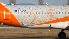 Airbus A320-214(WL) G-EZOX easyJet (20 years Livery) (William Musculus) Tags: basel mulhouse airport euroairport eap bsl mlh spotting airbus a320214wl gezox easyjet 20 years livery special