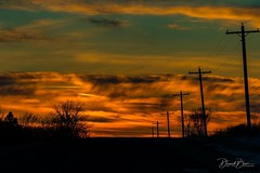 """""""Set your life on fire. Seek those who fan your flames."""" — Rumi  Tonight's Sunset.... (Baer's Den Photography) Tags:"""