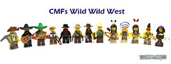 CMFs Wild Wild West (WhiteFang (Eurobricks)) Tags: lego collectable minifigures series city town space castle medieval ancient god myth minifig distribution ninja history cmfs sports hobby medical animal pet occupation costume pirates maiden batman licensed dance disco service food hospital child children knights battle farm hero paris sparta historic brick kingdom party birthday fantasy dragon fabuland circus