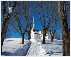 Hovin kirke - mars 2018 (Krogen) Tags: norge norway norwegen akershus romerike ullensaker hovin krogen vinter winter olympusomd kirke church
