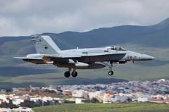 Las Palmas, Gran Canaria, 24th February 2018 (_Illusion450_) Tags: f18 mcdonnell douglas fa18a hornet spanish air force fuerza aerea española gando base las palmas airport gran canaria c1593