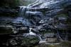 Bridal Veil Falls (Bruuceey) Tags: mountains waterfall green water plants tree logs branches long exposure 4 seconds f16 10mm iso 100 canon 7d 1022mmf3545usm forest rain bush lands bluemountains leura nsw australia newsouthwales leuracascades