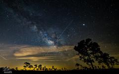 Spot The Station + Milky Way (Michael Seeley) Tags: astrophotography bullcreek milkyway nightsky nightphotography osceola spotthestation