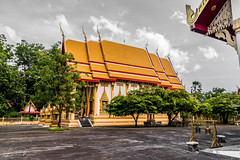 Chaithararam Temple / Wat Chalong (LBS Photography) Tags: 2016 thailand thailand2016 nikon d5500 nikond5500 thai temple thaitemple buddhism buddhisttemple gold วัดไชยธาราราม chaithararamtemple watchalong chalong chaithararam phuket mueangphuket 18200mm 18200