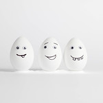 Eggs with faces thumbnail