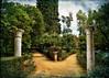 Two Paths (Jocelyn777) Tags: columns alcazar alcazargardens sevilla andalusia spain travel textured