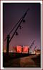 Titanic Glow (Deek Wilson) Tags: titanic building ssnomadic red spotlights nightshoot northernirelandlandmark belfast northernireland landmark