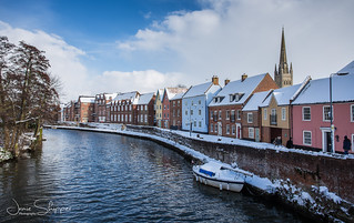 Quayside at Winter