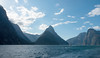 Milford Sound (Alfredo Esing) Tags: travel newzealand nz new zealand milford sound milfordsound cruise water mountians fiord nature landscape boat sky clouds peaks light afternoon daytime blue